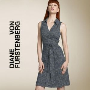 Diane Von Furstenberg Wrap St. Jude Hearts Dress